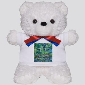 Monet - Water Lily Pond Teddy Bear