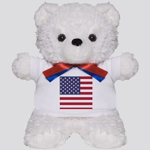 USA flag authentic version Teddy Bear