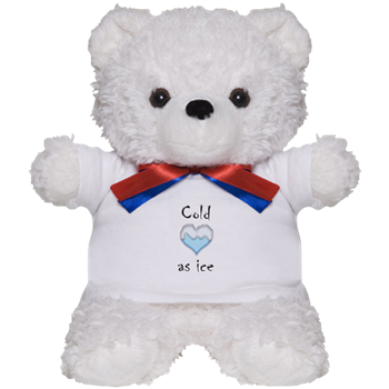 Cold as ice teddy bear cold as ice evil genius woman cold as ice teddy bear altavistaventures Choice Image