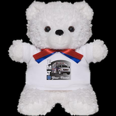 Custom Personalized EMT Teddy Bear