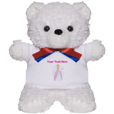 Personalize This Princess Designed Item Teddy Bear