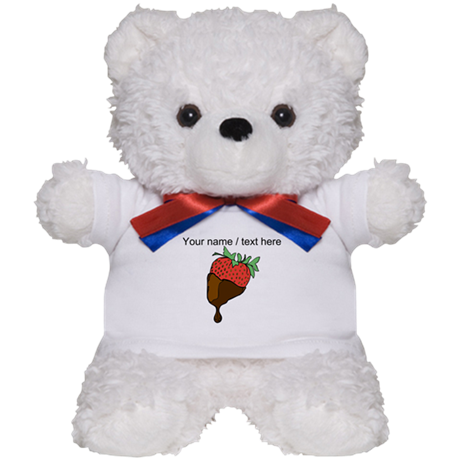 Personalized Chocolate Covered Strawberry Teddy Be