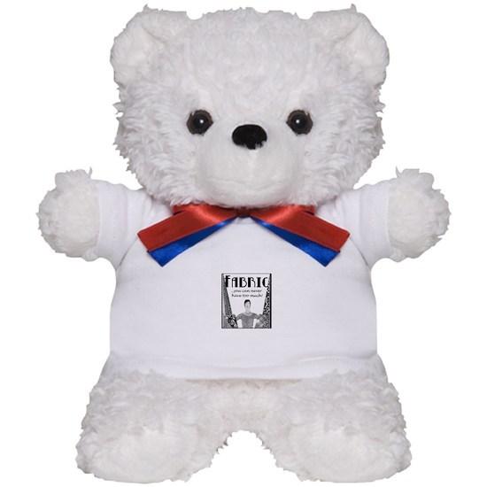 Fabric Never Too Much Teddy Bear By Crafty Gear Cafepress