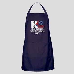 Made In America With South Korean Parts Apron (dar