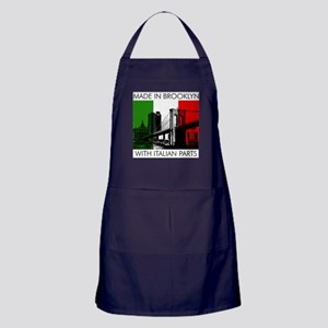 Made in Brooklyn with Italian Parts BBQ Apron