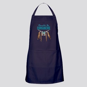 Proud to be Comanche Apron (dark)