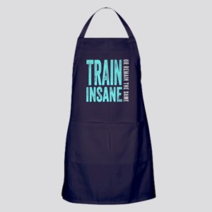Train Insane or Remain The Same Apron (dark)