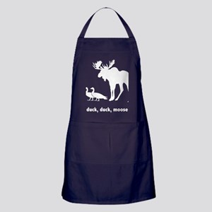 Duck Duck Moose Apron (dark)