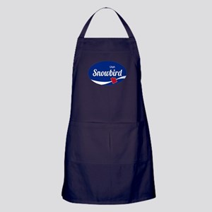 Snowbird Ski Resort Utah oval Apron (dark)