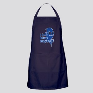 I Blue Myself Apron (dark)