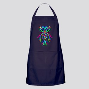 Owl Design Apron (dark)