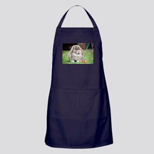 Easter Bunny Rabbit Apron (dark)