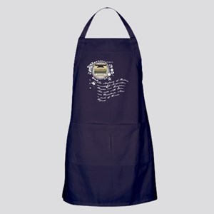 The Alchemy of Writing Apron (dark)