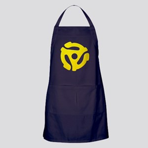 Yellow 45 RPM Adapter Apron (dark)