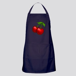 Two Cherries Apron (dark)