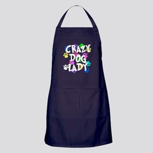 Crazy Dog Lady Apron (dark)