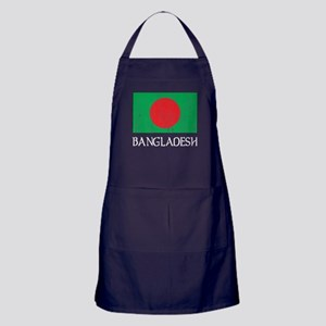 Bangladesh Flag Apron (dark)