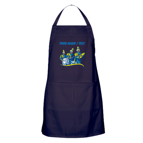 Custom Marching Band Apron (dark)