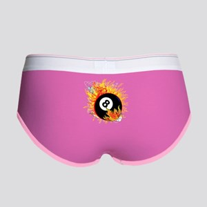 Fiery Eight Ball Women's Boy Brief
