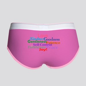 Fruit of the Spirit Women's Boy Brief