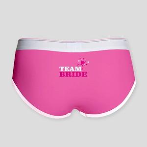 58de9099d Team Bride Women s Underwear   Panties - CafePress