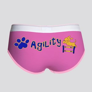Agility Bumper Sticker Women's Boy Brief