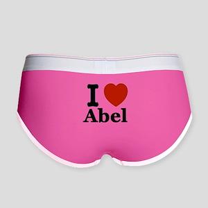 I love Abel Women's Boy Brief