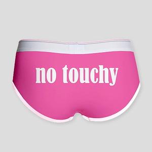 No Touchy Women's Boy Brief