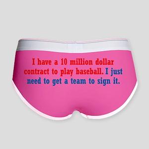 baseball-contract_bs1 Women's Boy Brief
