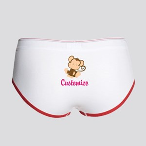 Personalize this adorable baby m Women's Boy Brief