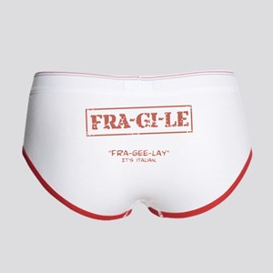 FRA-GI-LE [A Christmas Story] Women's Boy Brief
