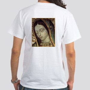 Our Lady of Guadalupe White T-Shirt