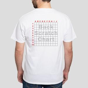Back Scratch White T-Shirt
