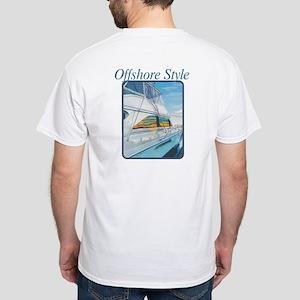 Offshore Style White White T-Shirt