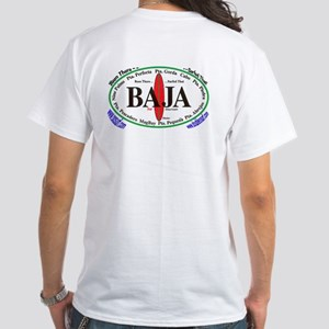 Baja Sur White T-Shirt