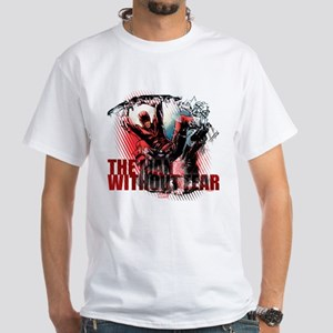 Daredevil Man Without Fear White T-Shirt