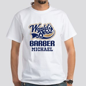 Barber Personalized Gift T-Shirt
