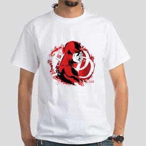 Daredevil Splatter Background Light T-Shirt