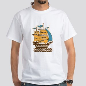 Pro Immigration Tee Shirt (White)