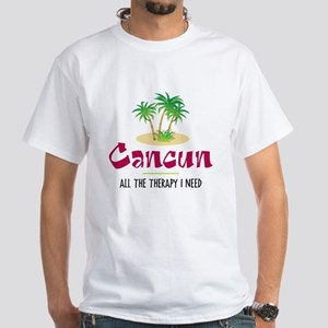 Cancun Therapy - White T-Shirt