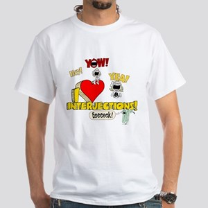 I Heart Interjections Light T-Shirt