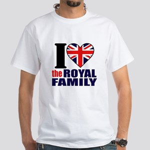 British Royal Family White T-Shirt
