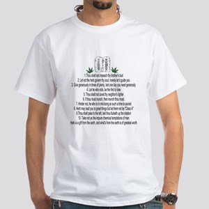 10 Commandments of Weed T-Shirt