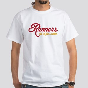 Runners do it for Miles Dark T-Shirt
