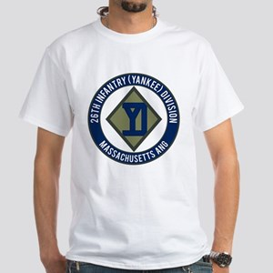 26th Infantry Mass ANG White T-Shirt