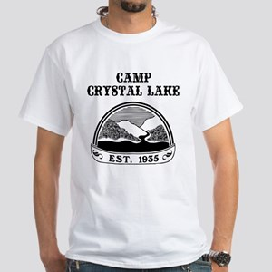 Camp Crystal Lake White T-Shirt