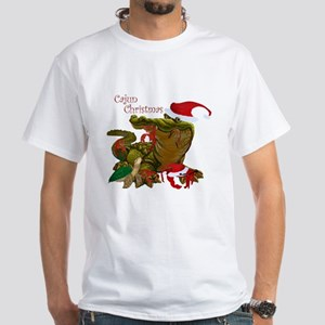 Cajun Christmas Apparel White T-Shirt