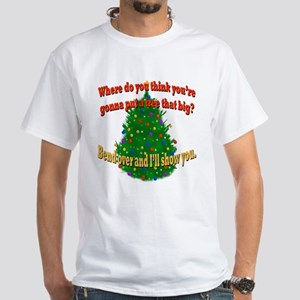 Griswold Christmas Tree White T-Shirt