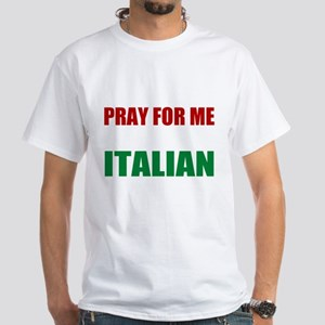 Pray Wife Italian Dark T-Shirt