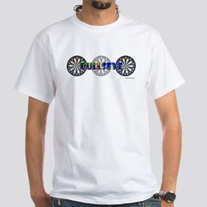 Bullseye Trio White T-Shirt